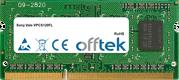 Vaio VPCS120FL 4GB Module - 204 Pin 1.5v DDR3 PC3-10600 SoDimm