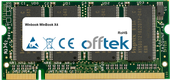 WinBook X4 512MB Module - 200 Pin 2.5v DDR PC266 SoDimm