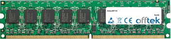 2GB Kit (2x1GB Modules) - 240 Pin 1.8v DDR2 PC2-5300 ECC Dimm (Single Rank)