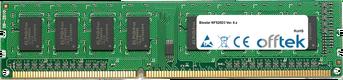 NF520D3 Ver. 6.x 4GB Module - 240 Pin 1.5v DDR3 PC3-10664 Non-ECC Dimm