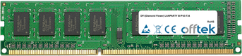 LANPARTY BI P43-T34 2GB Module - 240 Pin 1.5v DDR3 PC3-8500 Non-ECC Dimm