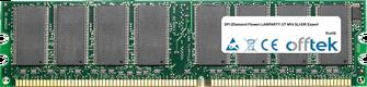 LANPARTY UT NF4 SLI-DR Expert 1GB Module - 184 Pin 2.6v DDR400 Non-ECC Dimm