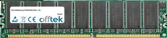 P4VXASD2 (Rev. 1.X) 512MB Module - 184 Pin 2.5v DDR333 ECC Dimm (Single Rank)