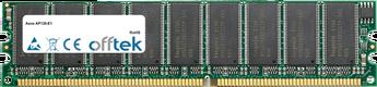AP130-E1 1GB Module - 184 Pin 2.6v DDR400 ECC Dimm (Dual Rank)