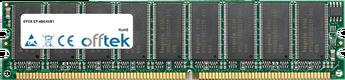 512MB Module - 184 Pin 2.6v DDR400 ECC Dimm (Single Rank)