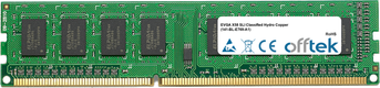 X58 SLI Classified Hydro Copper (141-BL-E769-A1) 4GB Module - 240 Pin 1.5v DDR3 PC3-10664 Non-ECC Dimm