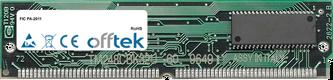 PA-2011 64MB Kit (2x32MB Modules) - 72 Pin 5v EDO Non-Parity Simm