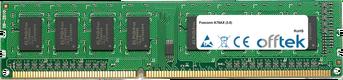 A78AX (3.0) 4GB Module - 240 Pin 1.5v DDR3 PC3-10664 Non-ECC Dimm