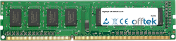 GA-880GA-UD3H 4GB Module - 240 Pin 1.5v DDR3 PC3-10664 Non-ECC Dimm