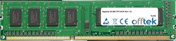 GA-MA770T-UD3P (Rev 1.0) 4GB Module - 240 Pin 1.5v DDR3 PC3-10664 Non-ECC Dimm