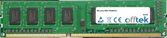 760GM-E51 4GB Module - 240 Pin 1.5v DDR3 PC3-10664 Non-ECC Dimm