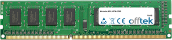 H57M-ED65 4GB Module - 240 Pin 1.5v DDR3 PC3-8500 Non-ECC Dimm