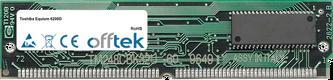 Equium 6200D 128MB Kit (2x64MB Modules) - 72 Pin 5v EDO Non-Parity Simm
