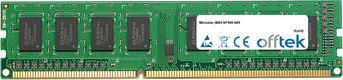 NF980-G65 4GB Module - 240 Pin 1.5v DDR3 PC3-8500 Non-ECC Dimm