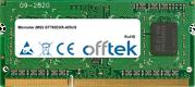 GT780DXR-405US 4GB Module - 204 Pin 1.5v DDR3 PC3-10600 SoDimm