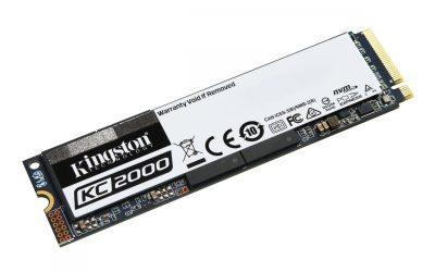 Kingston KC2000 M.2 NVMe SSD 250GB Drive