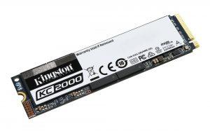 Kingston KC2000 M.2 NVMe SSD 500GB Drive
