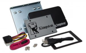 Kingston UV500 2.5-inch SSD Upgrade Kit 120GB Drive