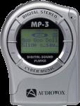 Audiovox MP3 Player Memory