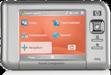 HP-Compaq GPS Memory