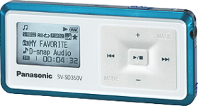 Panasonic MP3 Player Memory