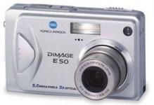 Konica Minolta DiMAGE E50