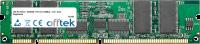 168 Pin Dimm - SDRAM - PC133 (133Mhz) - 3.3V - ECC Registered 256MB Module