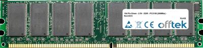 184 Pin Dimm - 2.5V - DDR - PC2100 (266Mhz) - Non-ECC 256MB Module