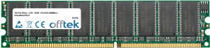 184 Pin Dimm - 2.5V - DDR - PC2100 (266Mhz) - Unbuffered ECC 512MB Module