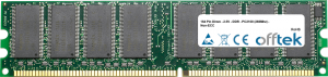 184 Pin Dimm - 2.5V - DDR - PC2100 (266Mhz) - Non-ECC 1GB Module