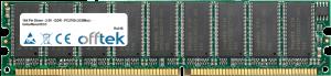 184 Pin Dimm - 2.5V - DDR - PC2700 (333Mhz) - Unbuffered ECC 256MB Module