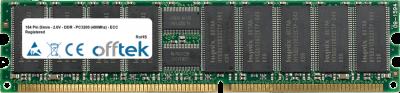 184 Pin Dimm - 2.6V - DDR - PC3200 (400Mhz) - ECC Registered 1GB Module