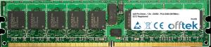 240 Pin Dimm - 1.8v - DDR2 - PC2-5300 (667Mhz) - ECC Registered 1GB Module