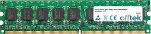 240 Pin Dimm - 1.8v - DDR2 - PC2-6400 (800Mhz) - Unbuffered ECC 1GB Module