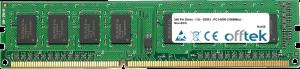 240 Pin Dimm - 1.5v - DDR3 - PC3-8500 (1066Mhz) - Non-ECC 1GB Module
