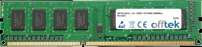 240 Pin Dimm - 1.5v - DDR3 - PC3-8500 (1066Mhz) - Non-ECC 2GB Module