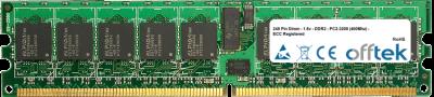 240 Pin Dimm - 1.8v - DDR2 - PC2-3200 (400Mhz) - ECC Registered 4GB Module