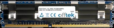 240 Pin Dimm - 1.8v - DDR2 - PC2-6400 (800Mhz) (AMB 1.5V) - FB-DIMM (APPLE APPROVED) 4GB Module
