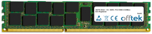240 Pin Dimm - 1.5v - DDR3 - PC3-10600 (1333Mhz) - ECC Registered 16GB Module
