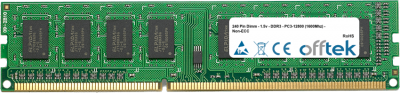 240 Pin Dimm - 1.5v - DDR3 - PC3-12800 (1600Mhz) - Non-ECC 2GB Module