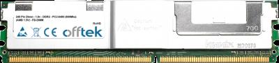 240 Pin Dimm - 1.8v - DDR2 - PC2-6400 (800Mhz) (AMB 1.5V) - FB-DIMM  8GB Module