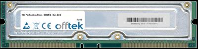 184 Pin Rambus Rimm - 800MHZ - Non-ECC 512MB Module