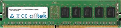 288 Pin Dimm - DDR4 - PC4-19200 (2400Mhz) - UDIMM - ECC Unbuffered 8GB Module
