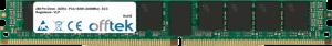 288 Pin Dimm - DDR4 - PC4-19200 (2400Mhz) - ECC Registered - VLP 32GB Module