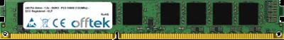 240 Pin Dimm - 1.5v - DDR3 - PC3-10600 (1333Mhz) - ECC Registered - VLP 8GB Module