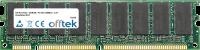 168 Pin Dimm - SDRAM - PC100 (100Mhz) - 3.3V - Unbuffered ECC 512MB Module