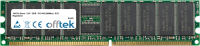 184 Pin Dimm - 2.5V - DDR - PC2100 (266Mhz) - ECC Registered 256MB Module