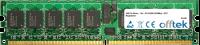 240 Pin Dimm - 1.8v - PC2-4200 (533Mhz) - ECC Registered 1GB Module