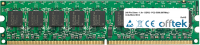 240 Pin Dimm - 1.8v - DDR2 - PC2-5300 (667Mhz) -  Unbuffered ECC 1GB Module