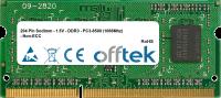 204 Pin Sodimm - 1.5V - DDR3 - PC3-8500 (1066Mhz) - Non-ECC 2GB Module